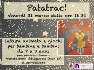 Patatrac, laboratorio per bambine e bambini - Marzo