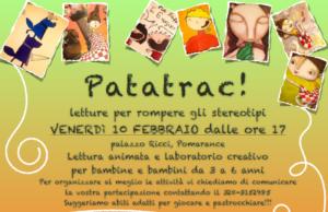 Patatrac, laboratorio per bambine e bambini - Febbraio