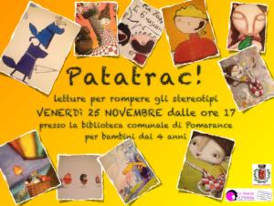 Patatrac, laboratorio per bambine e bambini - Novembre