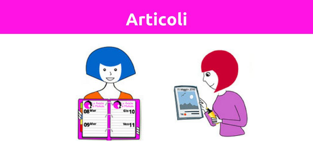 Il blog delle Amiche di Mafalda - Gli articoli